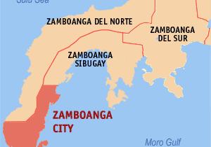 Zamboanga map image