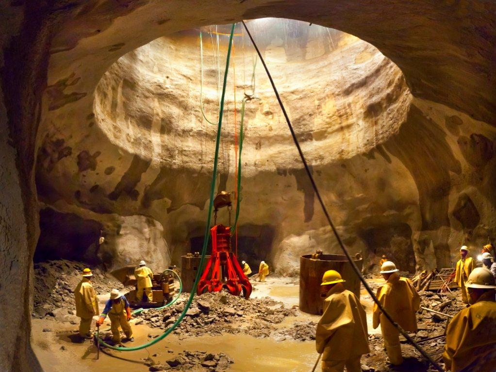 Revolutionising shaft sinking in South Africa