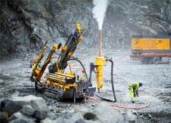 Atlas Copco launches the Explorac 100 reverse circulation drilling rig