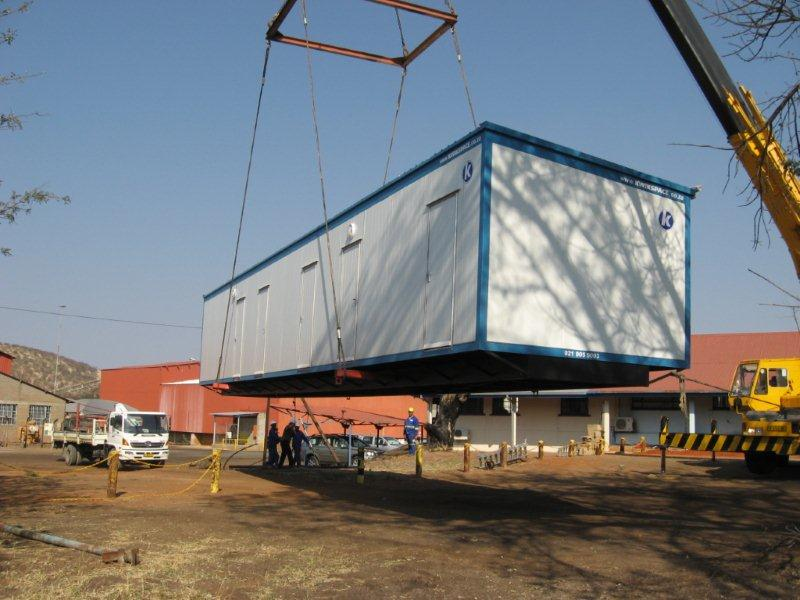 Accommodation for Tsumeb copper smelter's new acid plant in Namibia