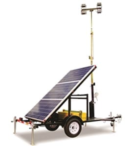A new breed of high-efficiency, sustainable portable solar light towers