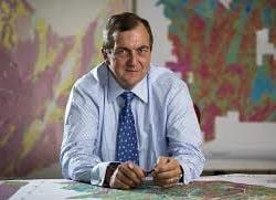 Randgold Resources chief executive Mark Bristow.
