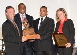 Lonmin's 4b/1b shaft recognised as safest mine in South Africa