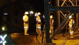 Lonmin workers image