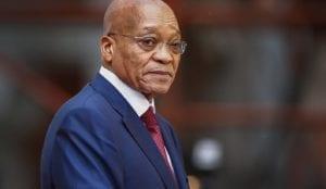 SA President Jacob Zuma arrives for SONA2017