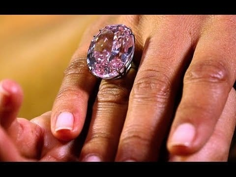 Pink Star Diamond Fetches Record $71.2 Million In Hong Kong