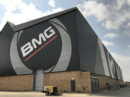 From Bearings Man to BMG: A whole new facility