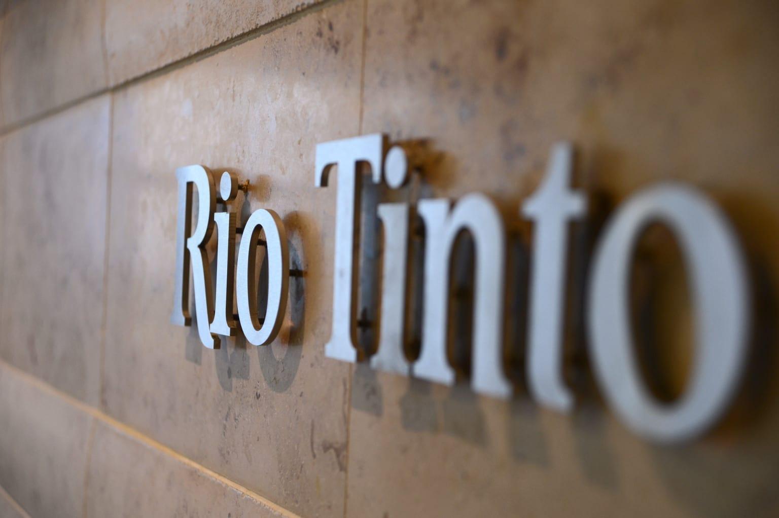 Rio Tinto (RIO) Receives