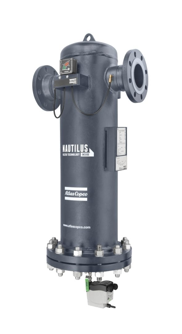 Single-filter technology from Atlas Copco redefines filtration standards