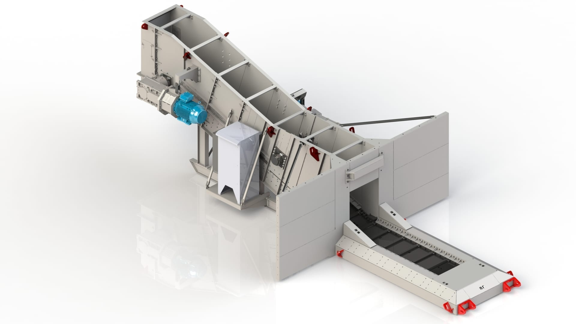 Low capacity reclaim feeder suits any size mine