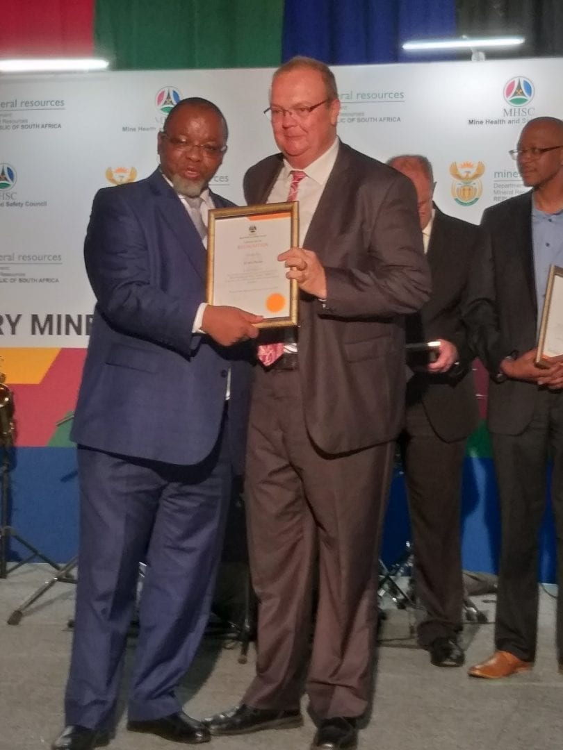 Mining industry campaigner honoured