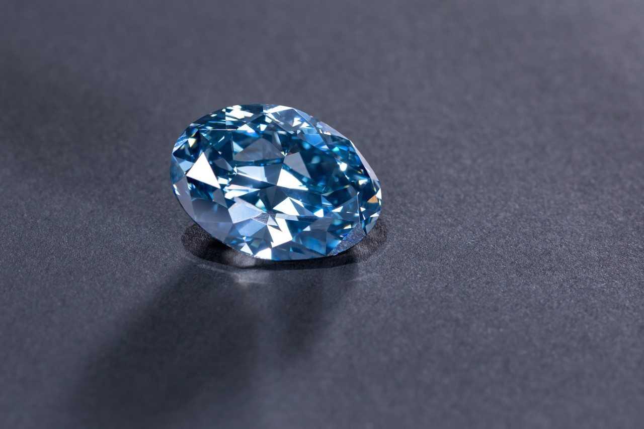 Okavango Diamond Company reveals 'The Okavango Blue'
