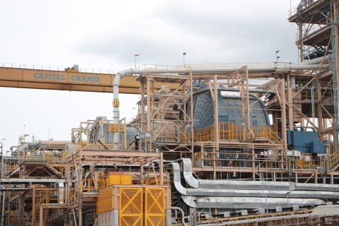 Ahafo Mill expansion in Ghana achieves commercial production