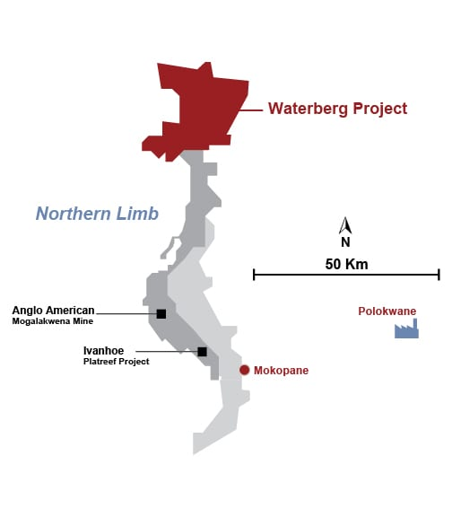 DFS technical report filed for Waterberg project