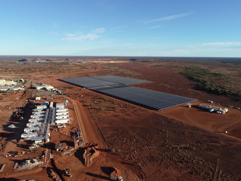 Goldfields' landmark Australia-based Agnew hybrid renewable project powers up
