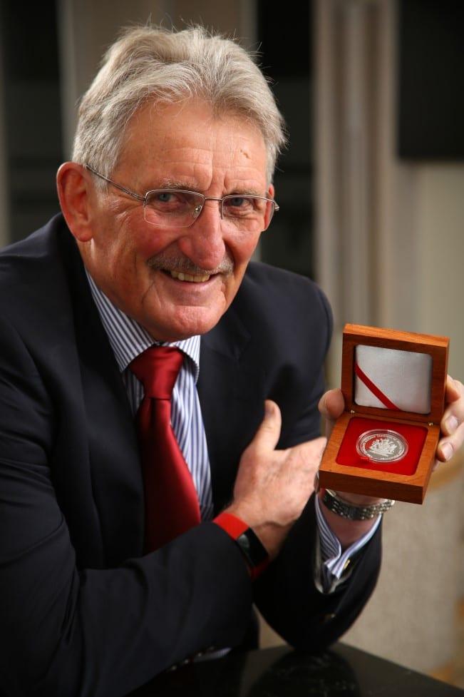 Rodger Dixon awarded with Brigadier Stokes award