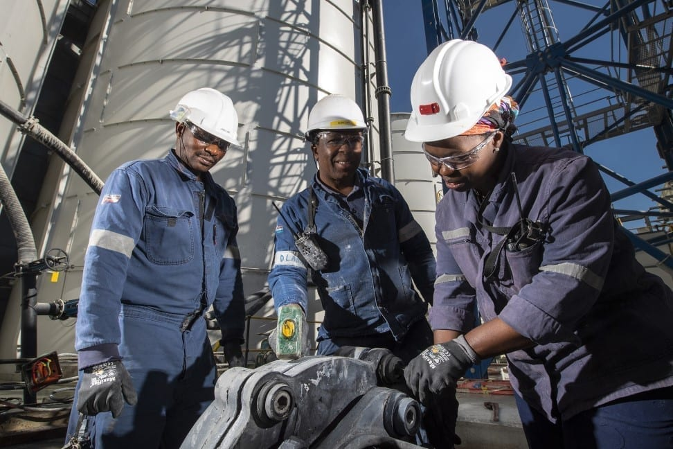 Executives discuss mining in Africa
