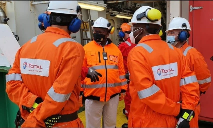 Mantashe encouraged by progress on DeepSea drilling campaign