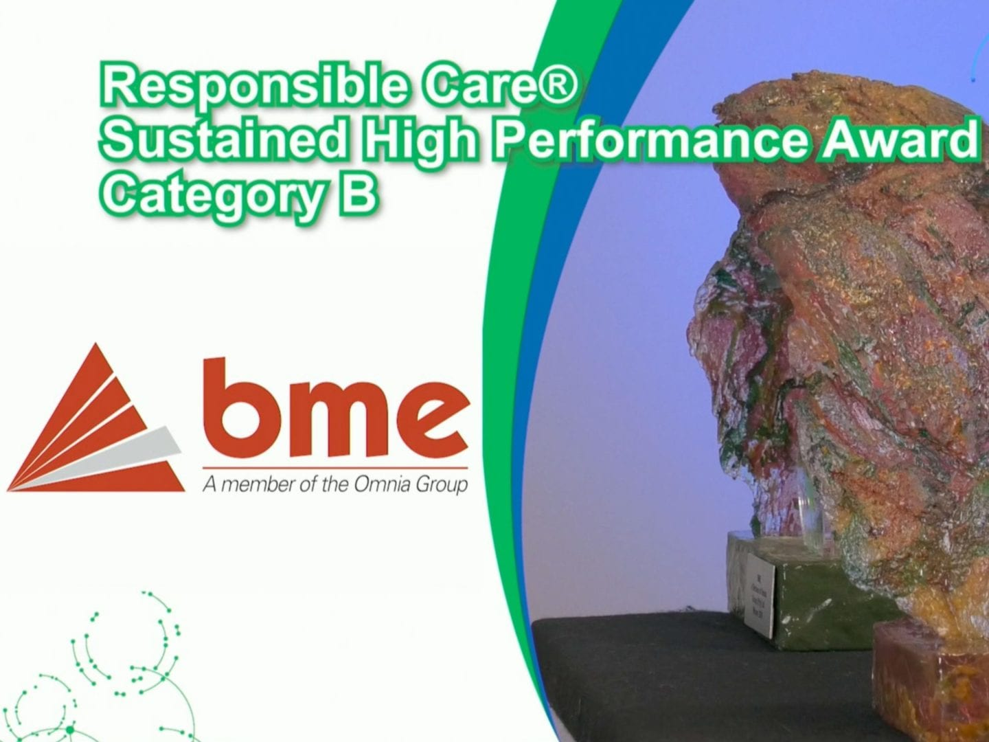 BME recognised for safety performance