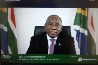 Ramaphosa gives mining nod at MI Virtual