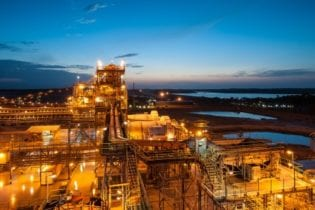 Barrick's Tongon mine reaches new heights
