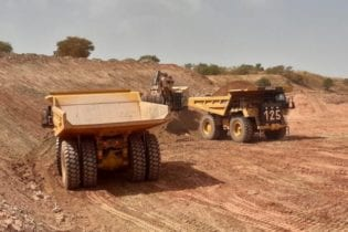 Open pit mining operations commence at Morila