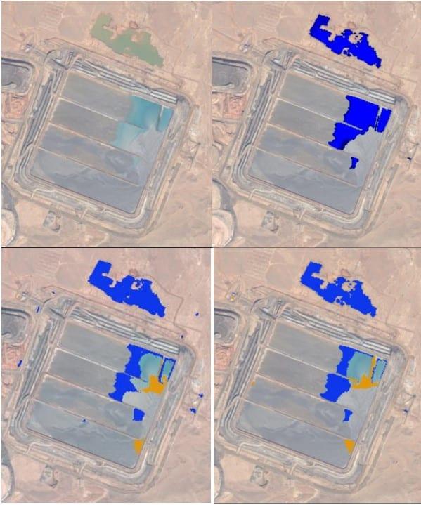 Tailings Dam Monitoring from satellites