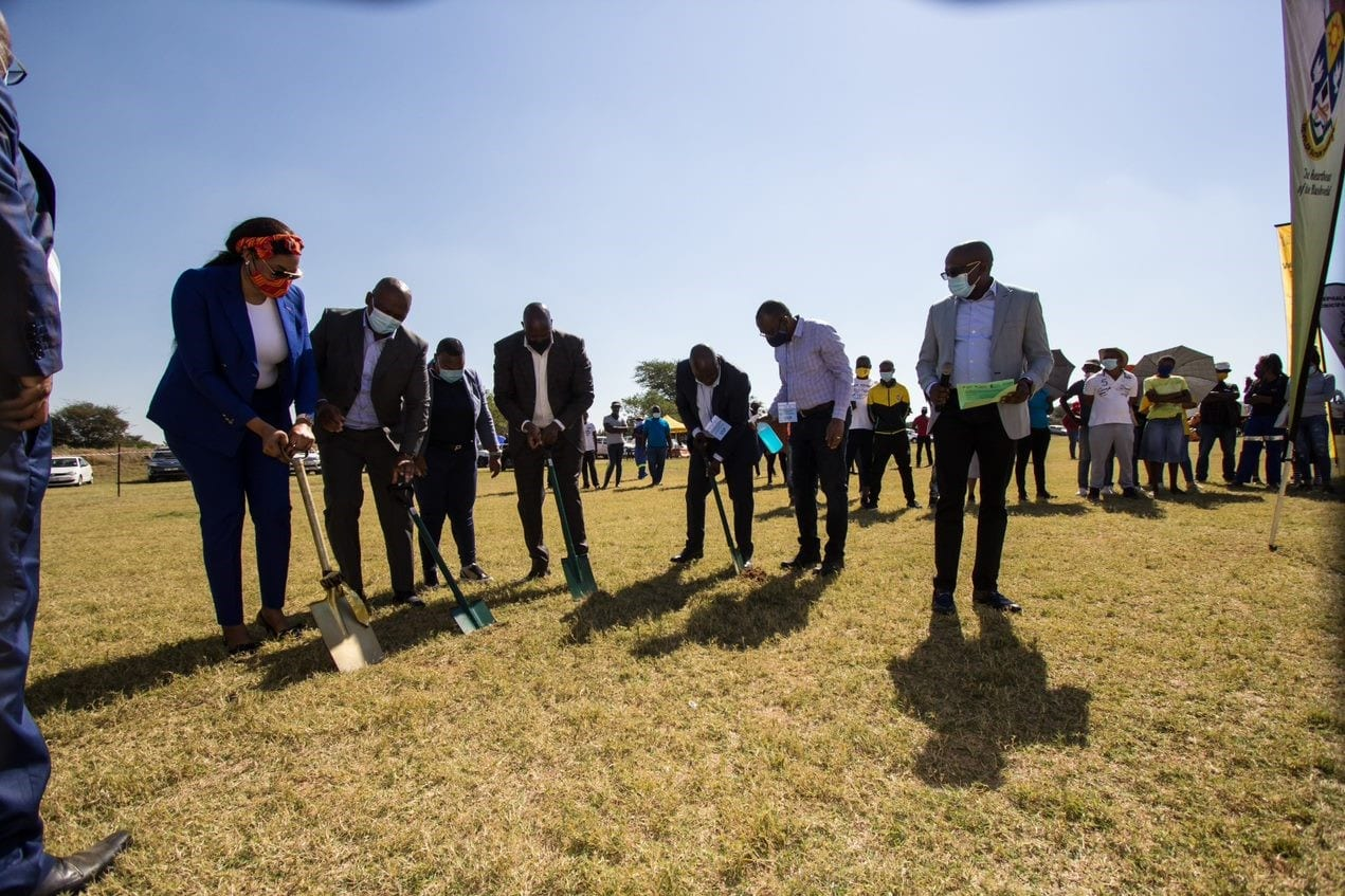 Exxaro hosts a sod-turning ceremony