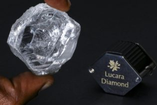 393.5 carat diamond recovered from Lucara Mine